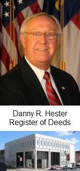 Danny Hester Register of Deeds
