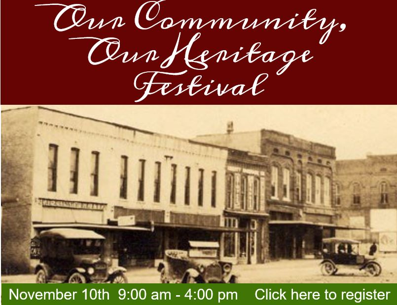 Our Community, Our Heritage Festival